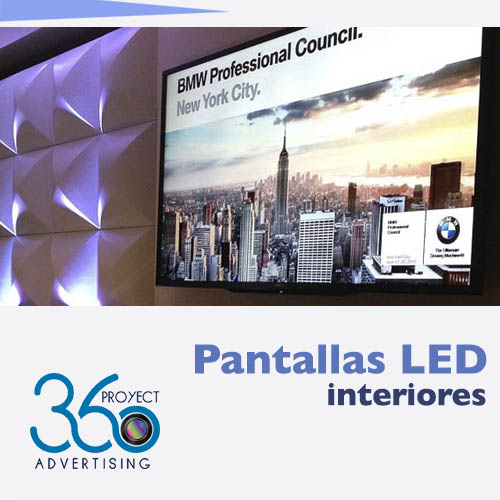 Pantallas LED de interior