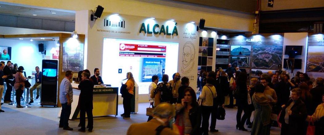 Stand de Alcalá en Fitur 2018