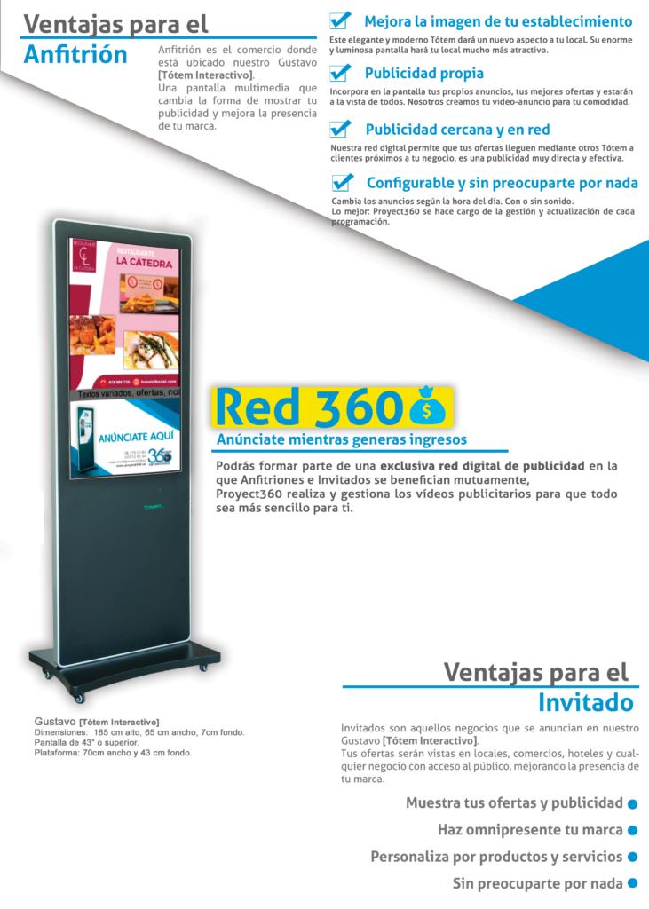 red de publicidad red360 - soportes publicitarios en españa