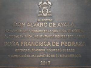 Francisca Pedraza - El primer divorcio en el mundo