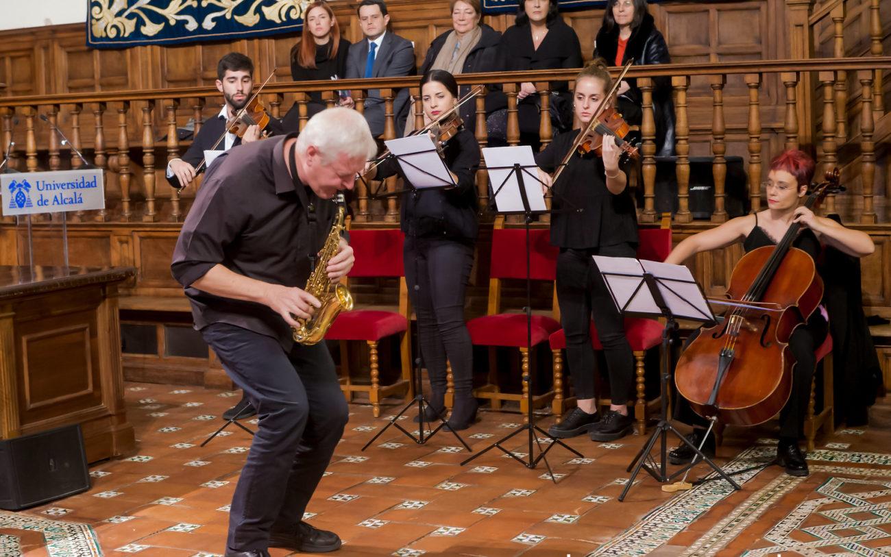 D. Andreas Prittwizt y el Cuarteto de Cámara de la Orquesta Ciudad de Alcalá