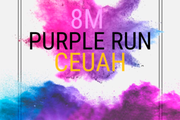 Purple Run por el 8M del CEUAH 2020