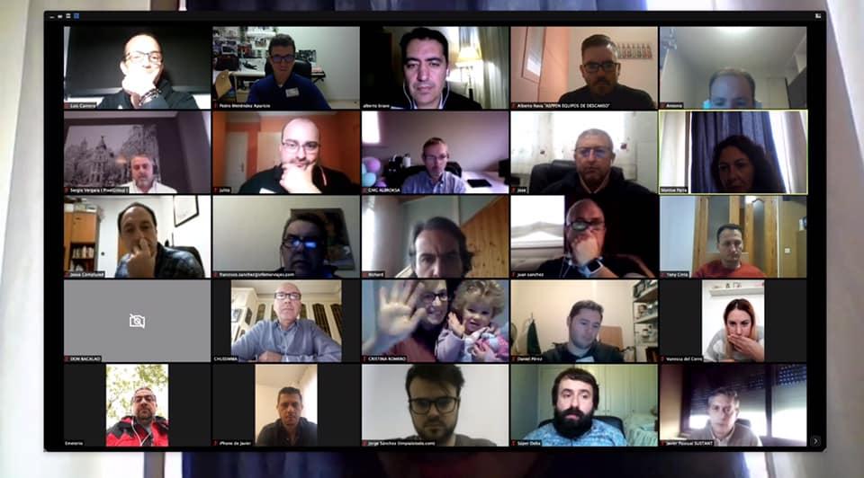 Reunión virtual de BNI Rentabilidad