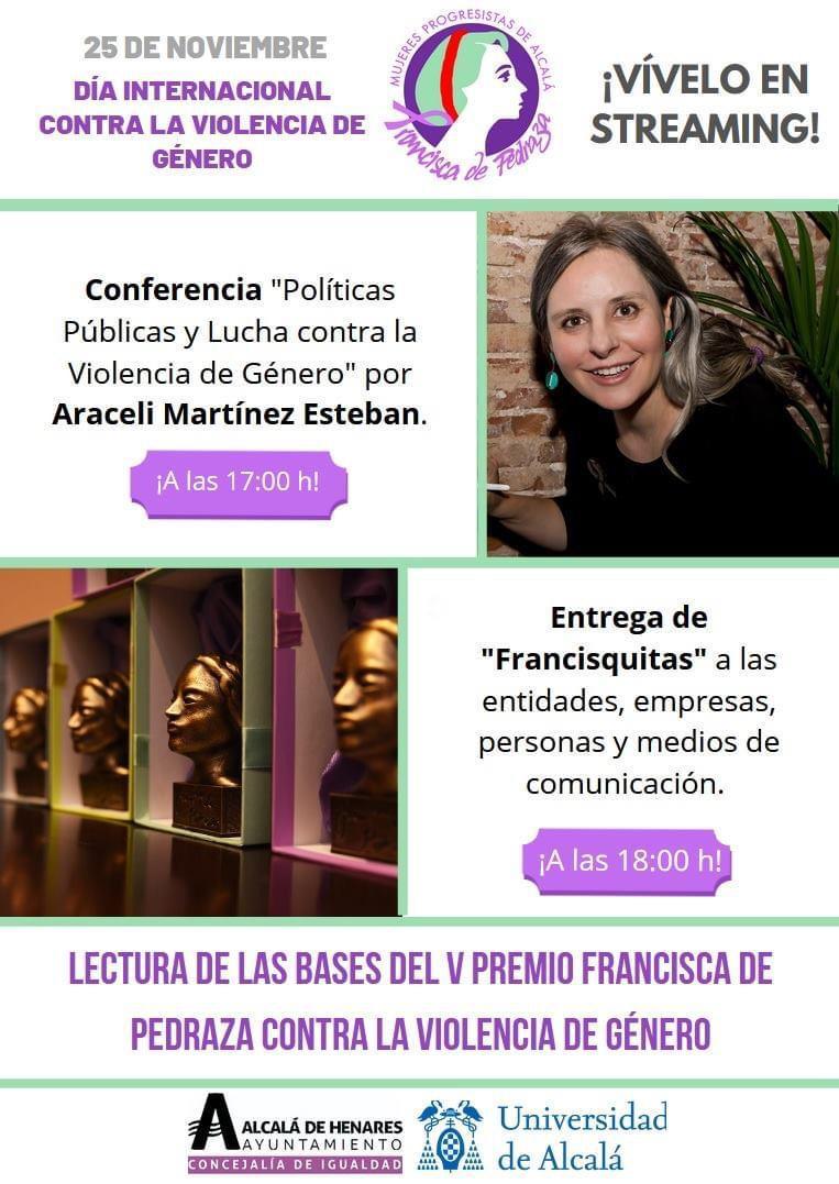 Conferencia por el Día de la Eliminación de la Violencia de Género - Alcalá de Henares
