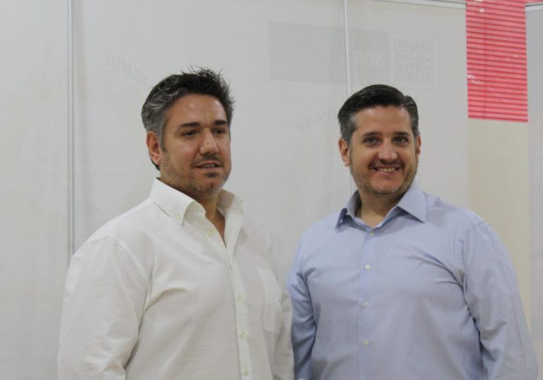 Miguel Ángel y su hermano Jose Luis